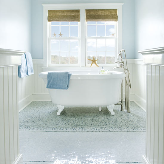 New England Bathroom Design Ideas ~ Siennas beach hut ★★★ gjestebadet d