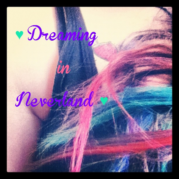 Dreaming in Neverland.