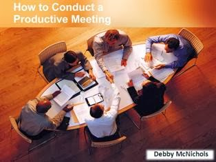Conduct Productive Meetings PPT Download