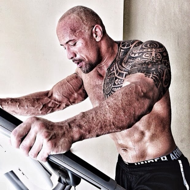 "Dwayne Johnson ""The Rock"" en Instagram"