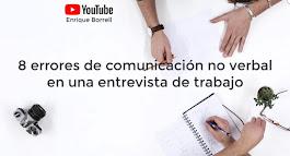 8 errores de comunicación no verbal en una entrevista de trabajo
