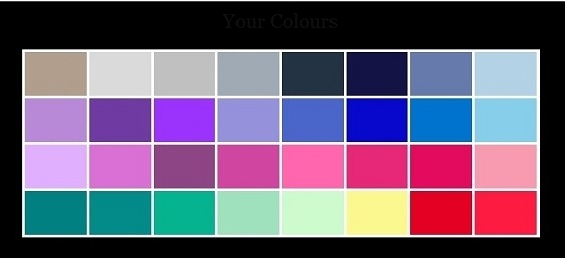 how to know what colours suit you