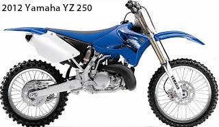 2012 Yamaha YZ250
