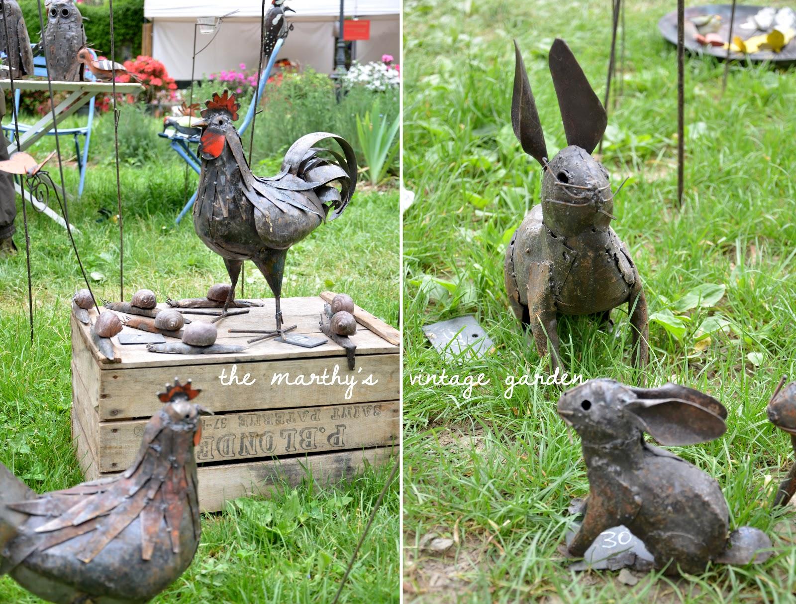 animali da giardino in ferro idee per la casa