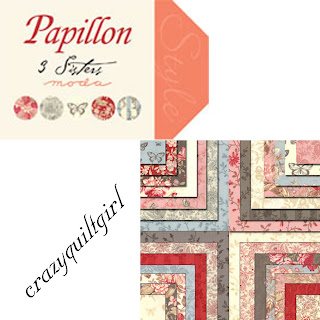Moda PAPILLON Quilt Fabric by 3 Sisters