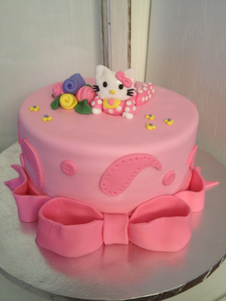 Living Room Decorating Ideas Baby Shower Cakes Hello Kitty