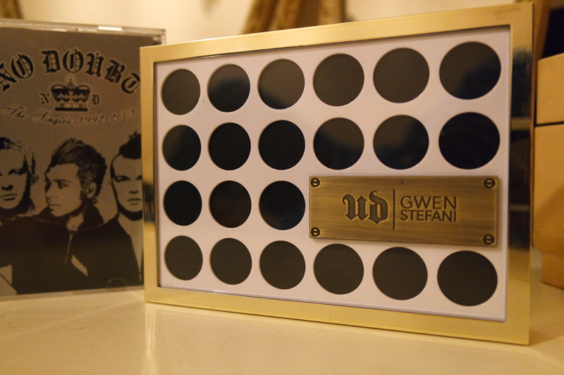 UD X GWEN palette case design