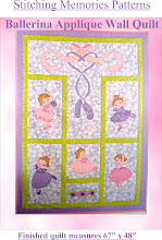 Ballerina Beauties applique quilt