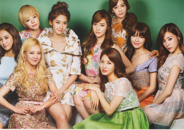 PHOTO SNSD 2013 VOGUE Japan Magazine