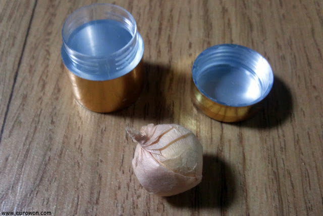 Bola medicinal coreana con oro