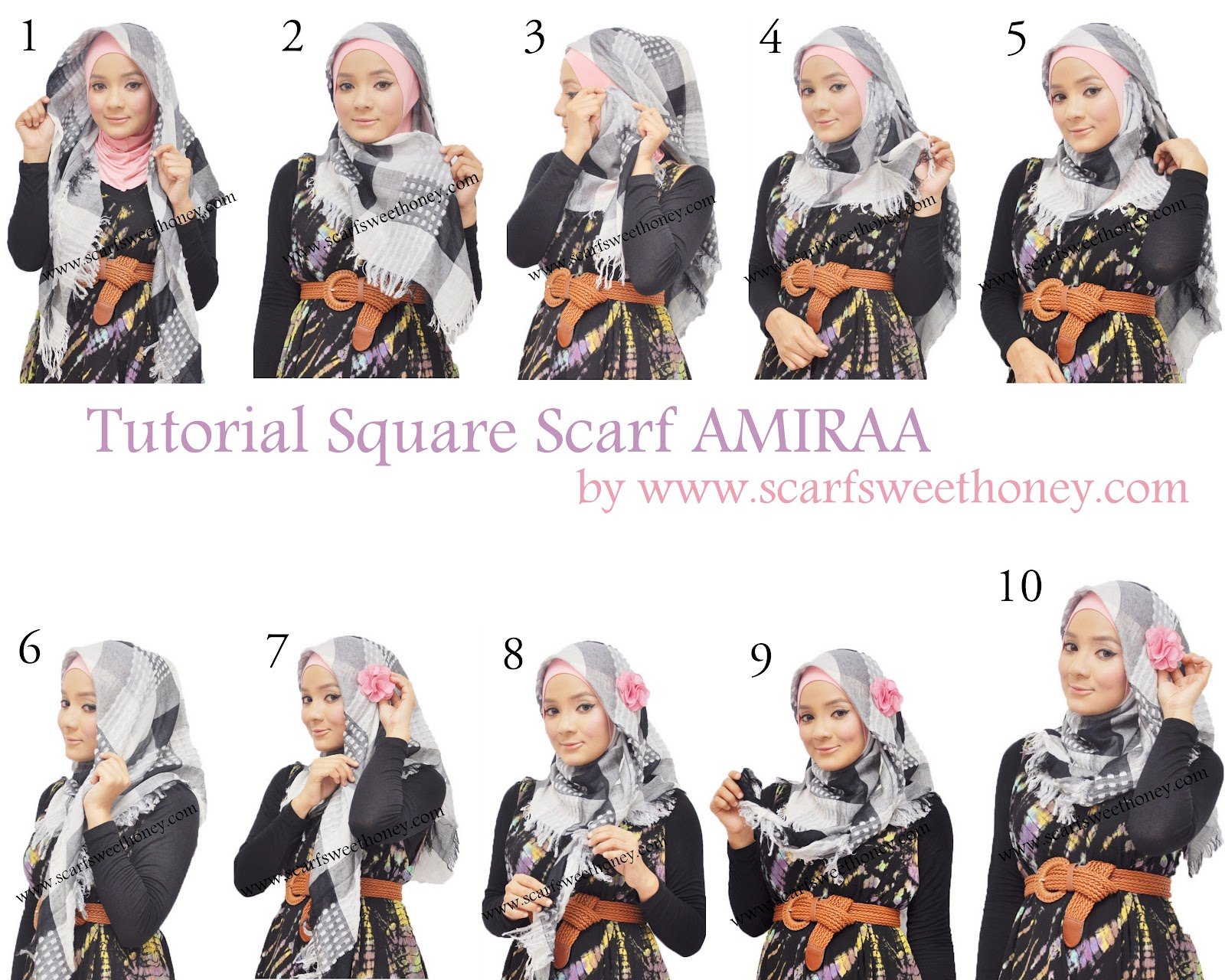 Tutorial Hijab Terbaru September 2014