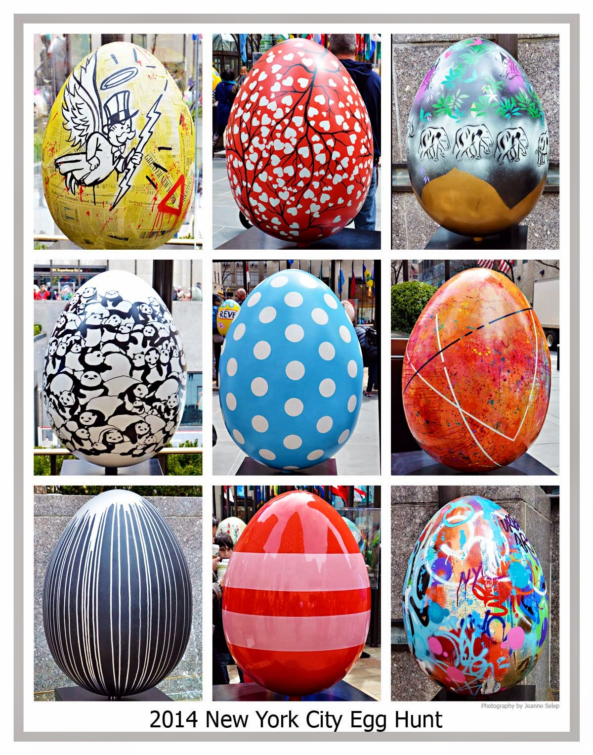 Easter Egg hunt 2014 Faberge New York City NYC Egg Hunt