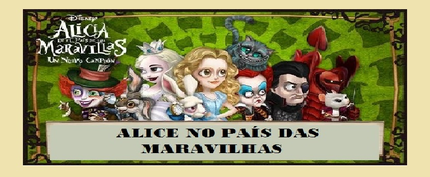 Narrativa transmídia- Alice no país das maravilhas
