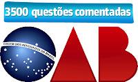 OAB 3500 questões da FGV