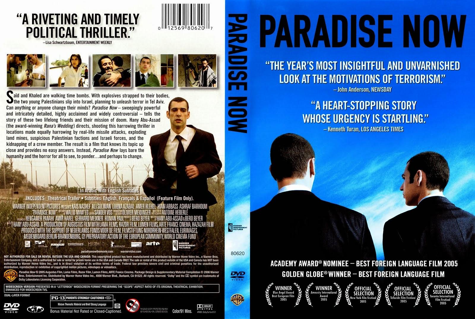 1041º - PARADISE NOW (2005)