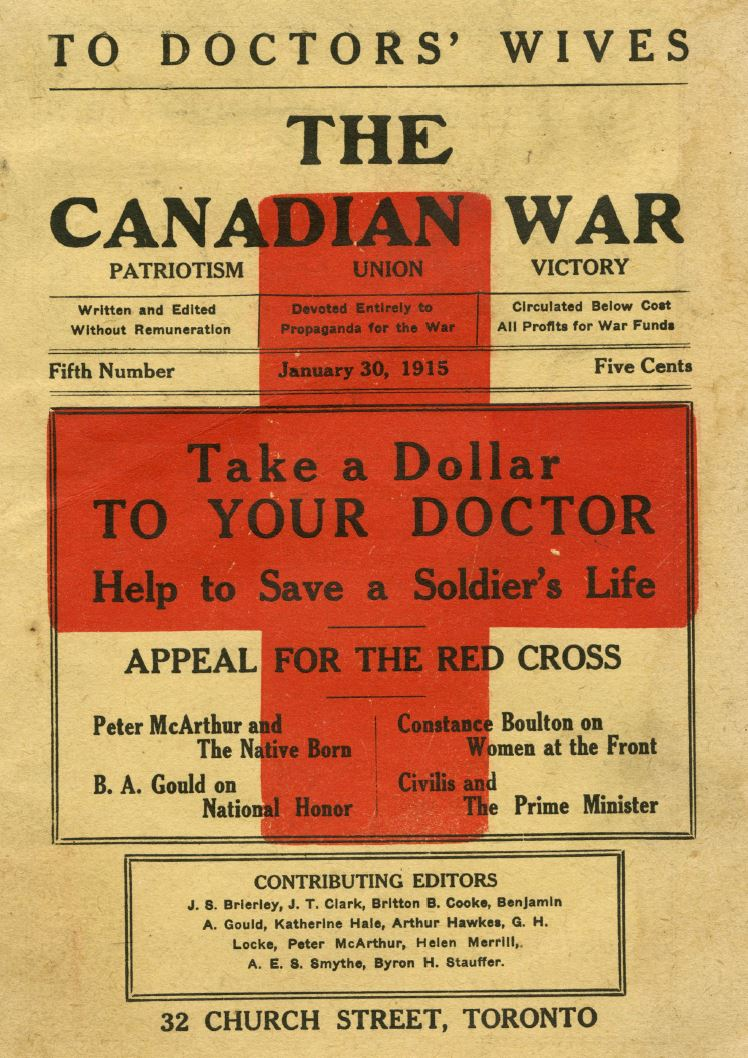 The Canadian War, January 2015 (PDF)