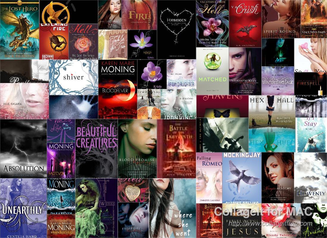My Bookshelf Updated! :)