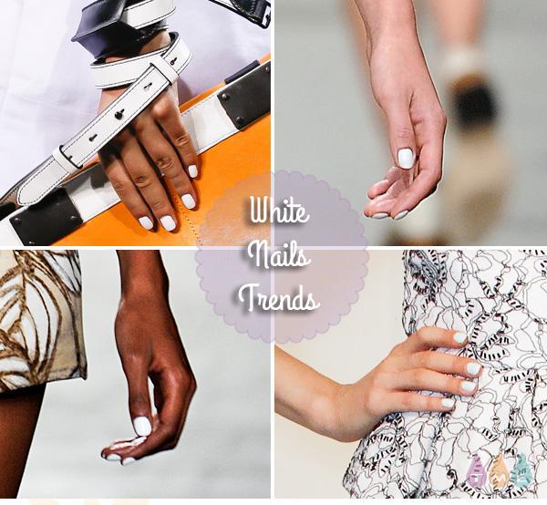 white-nails