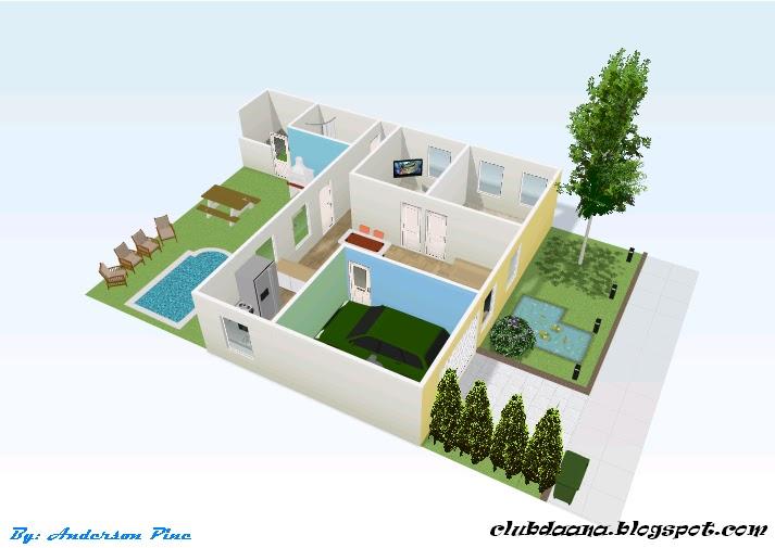algumas imagens de projetos feitos no Floorplanner (conta grátis