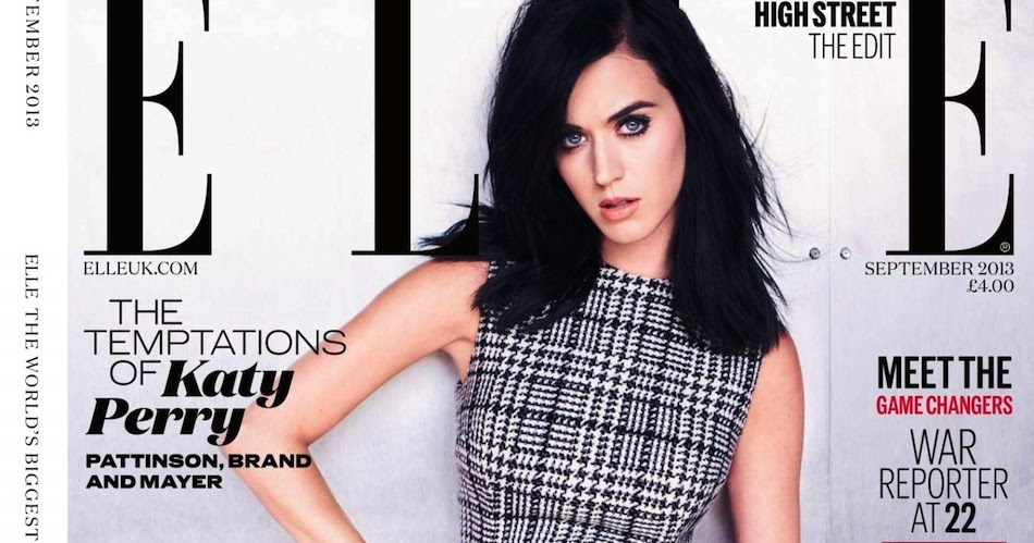 Elle UK September 2013: Katy Perry by Mariano Vivanco