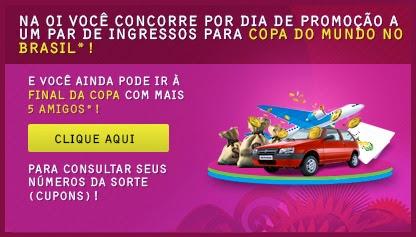 """Promoção """"Oi, Eu Tô Na Copa"""""""