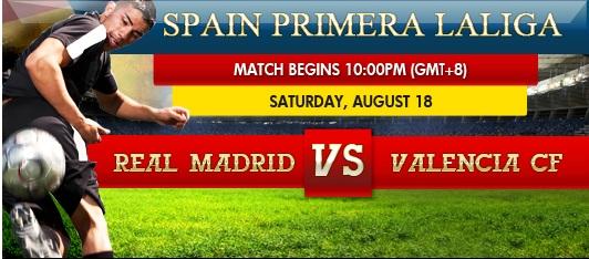 Real Madrid vs. Valencia Spain+primera+liga
