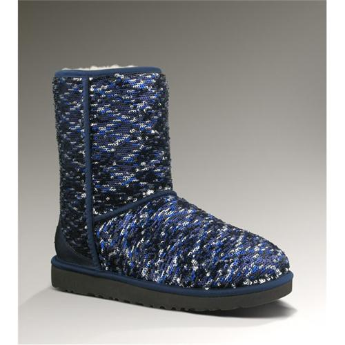 Silver Sparkly Uggs