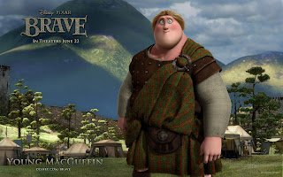 Brave 3D Animation Movie Young Macguffin HD Wallpaper