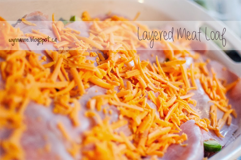 Layered Meat Loaf | Wynn Anne's Meanderings