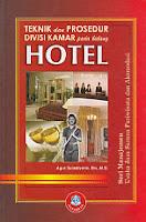 toko buku rahma: buku TEKNIK DAN PROSEDUR DIVISI KAMAR PADA BIDANG HOTEL, pengarang agus sulistiyono, penerbit alfabeta
