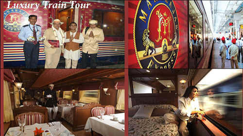 India Travel - Maharaja express princely  luxury train tour