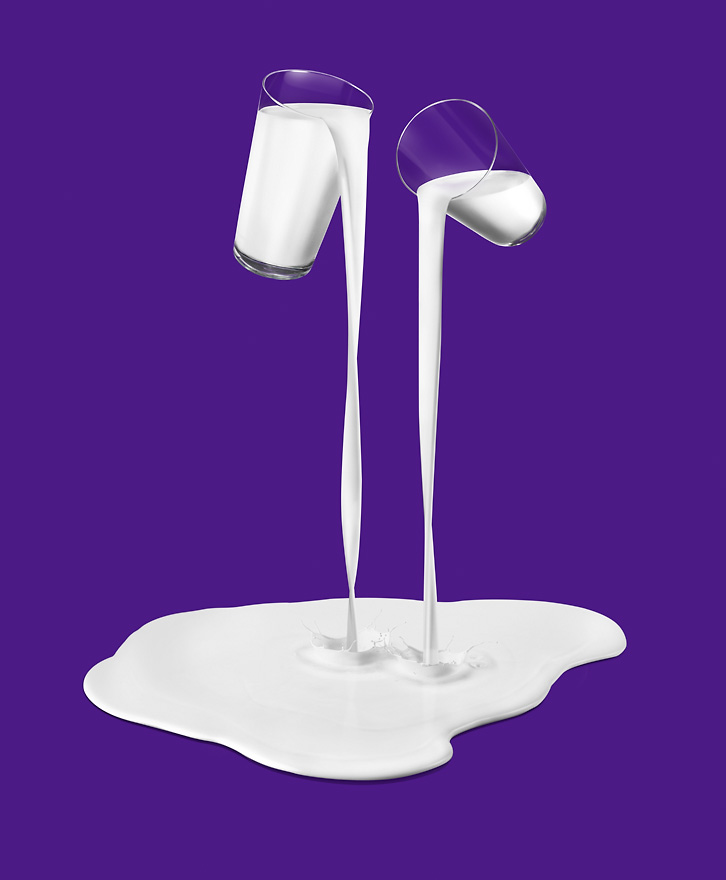Cadburys  Glasses Of Milk