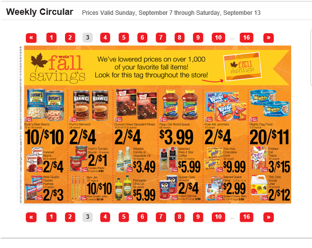 DON'T READ THIS; IT'S BORING!: Your Grocery Flyer (And Store) is a ...