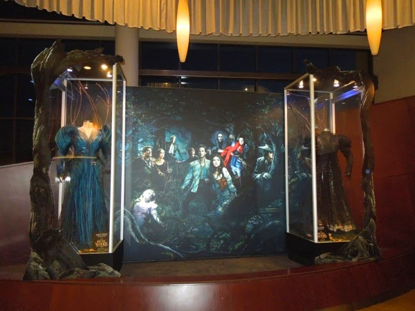 Into the Woods Witch movie costume exhibit
