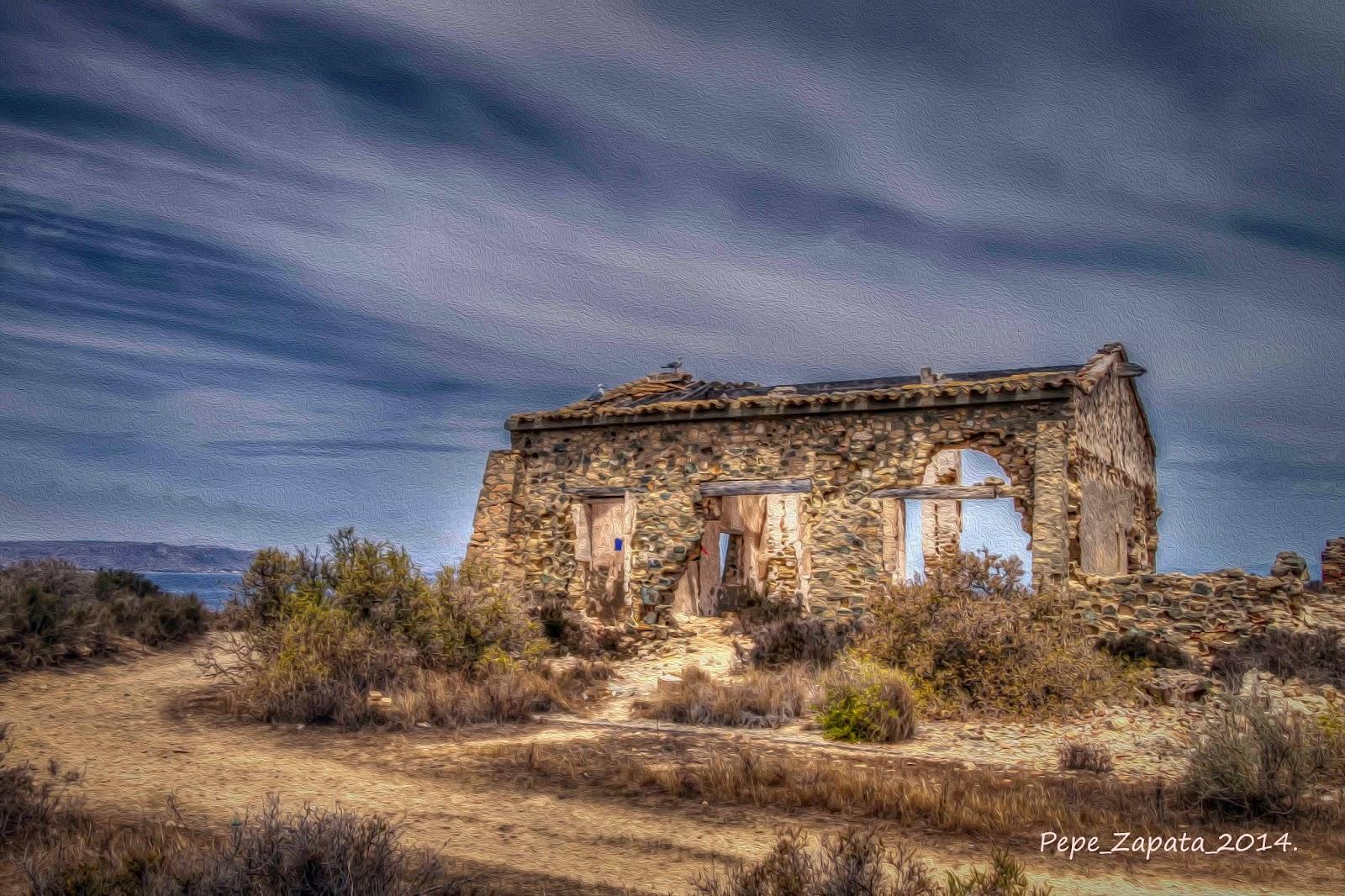 Retales visuales ruina de una casa en la isla de tabarca - Casas en tabarca ...