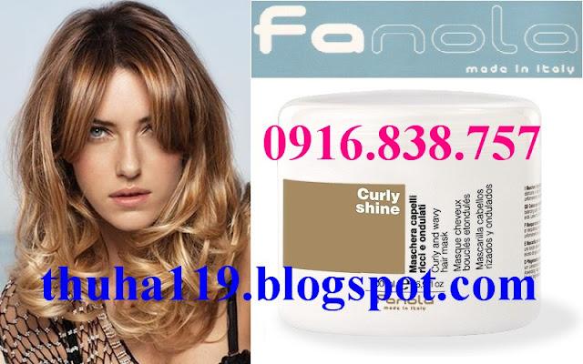 Hấp dầu Fanola Curly Shine - Chuyên gia chăm sóc tóc uốn