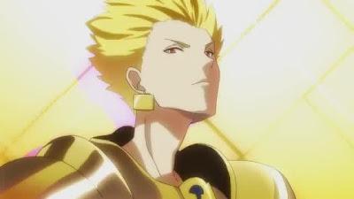 Fate/EXTRA CCC PSP OP Cap 006 Screenshot Gilgamesh