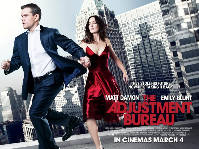 the adjustment bureau watch online full movie 2011
