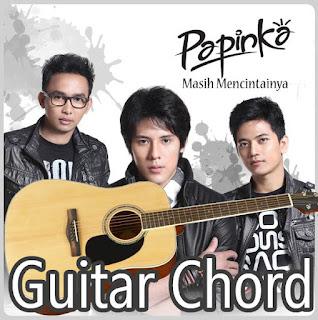 Kunci Gitar(Chord) dan Lirik Papinka Masih Mencintainya