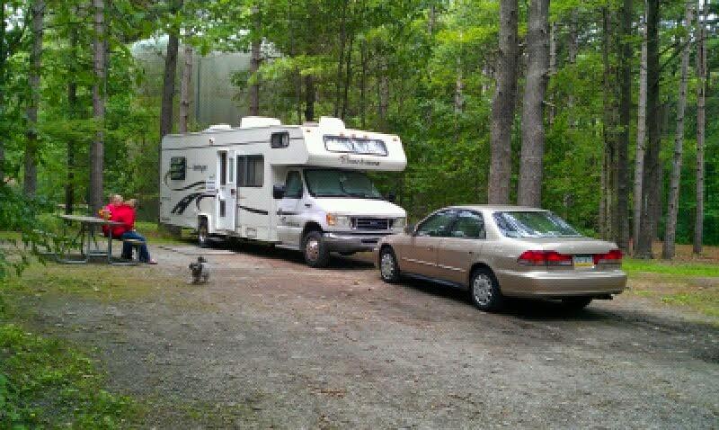 Watkins Glen State Park Campsite
