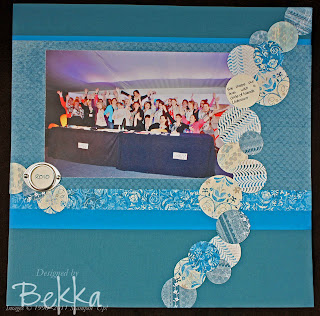 Stampin' Up! Scrapbooking Pages