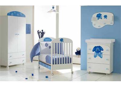 Habitaci n de bebe color celeste dormitorios con estilo - Colores para habitaciones de bebe ...