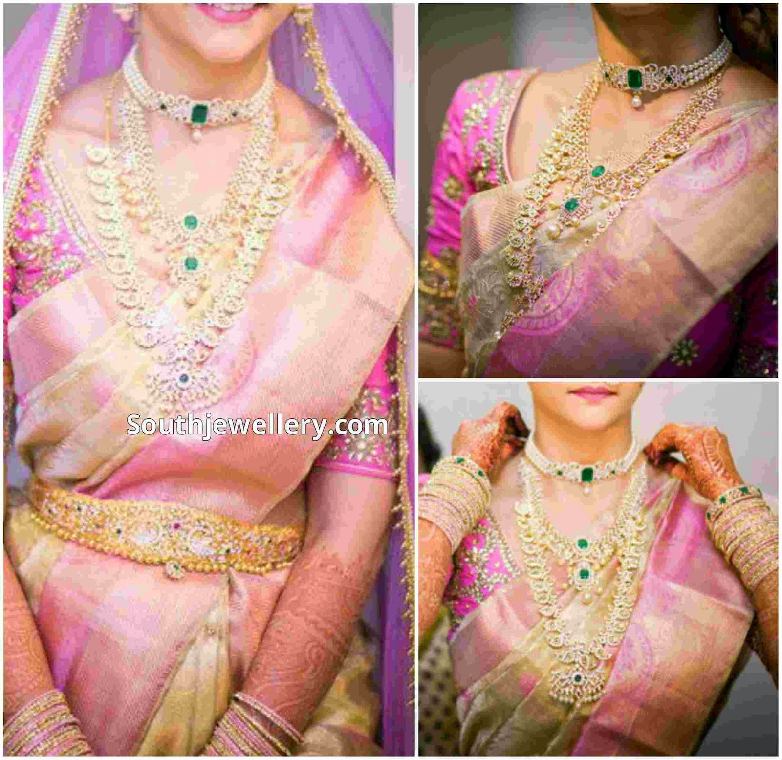 Latest Indian Gold Jewellery Sets Designs For Bridal 2016: Latest Indian Jewellery Designs 2014