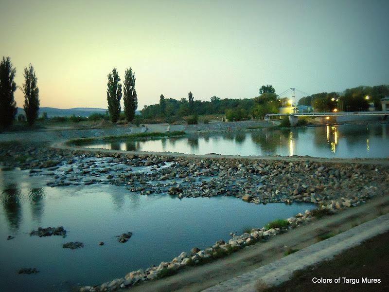 Baraj de captare a apei - Tirgu Mures