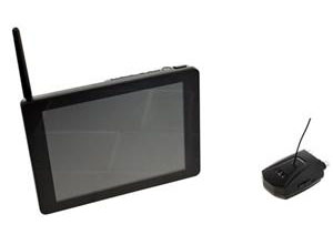 "Click here for more information about the Flashpoint 8"" LCD Monitor"