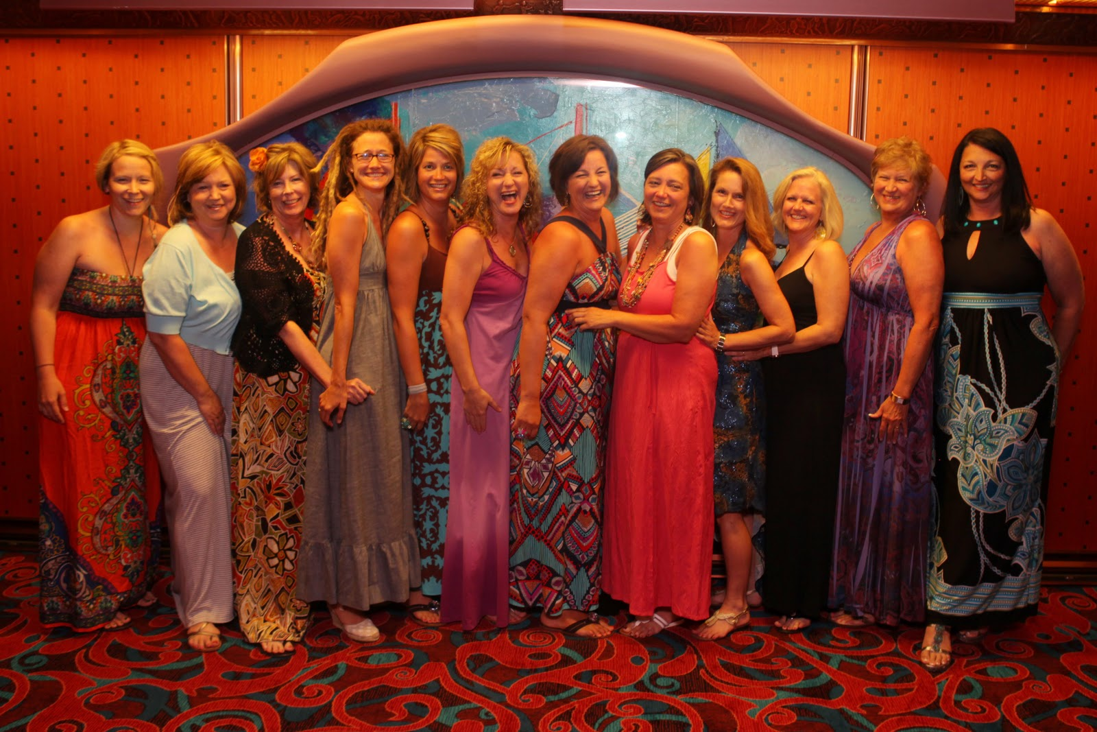 what to wear to dinner on a cruise, girls cruise, birthday cruise, packing for a cruise, girl trip