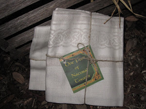 Pair of Irish Linen & Cotton