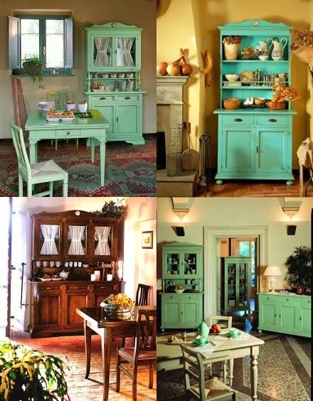 Recortes decorados alacenas for Alacenas vintage
