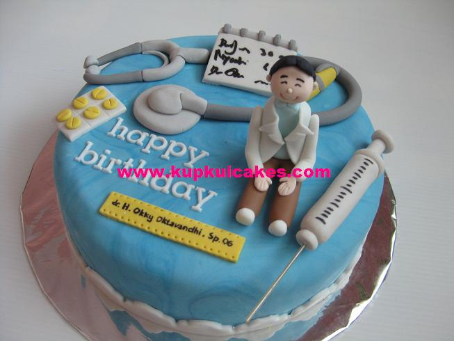 Birthday Cake Images For Doctors : Kupkui Cakes: doctor cake