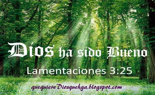 por que Dios es bueno y misericordioso
